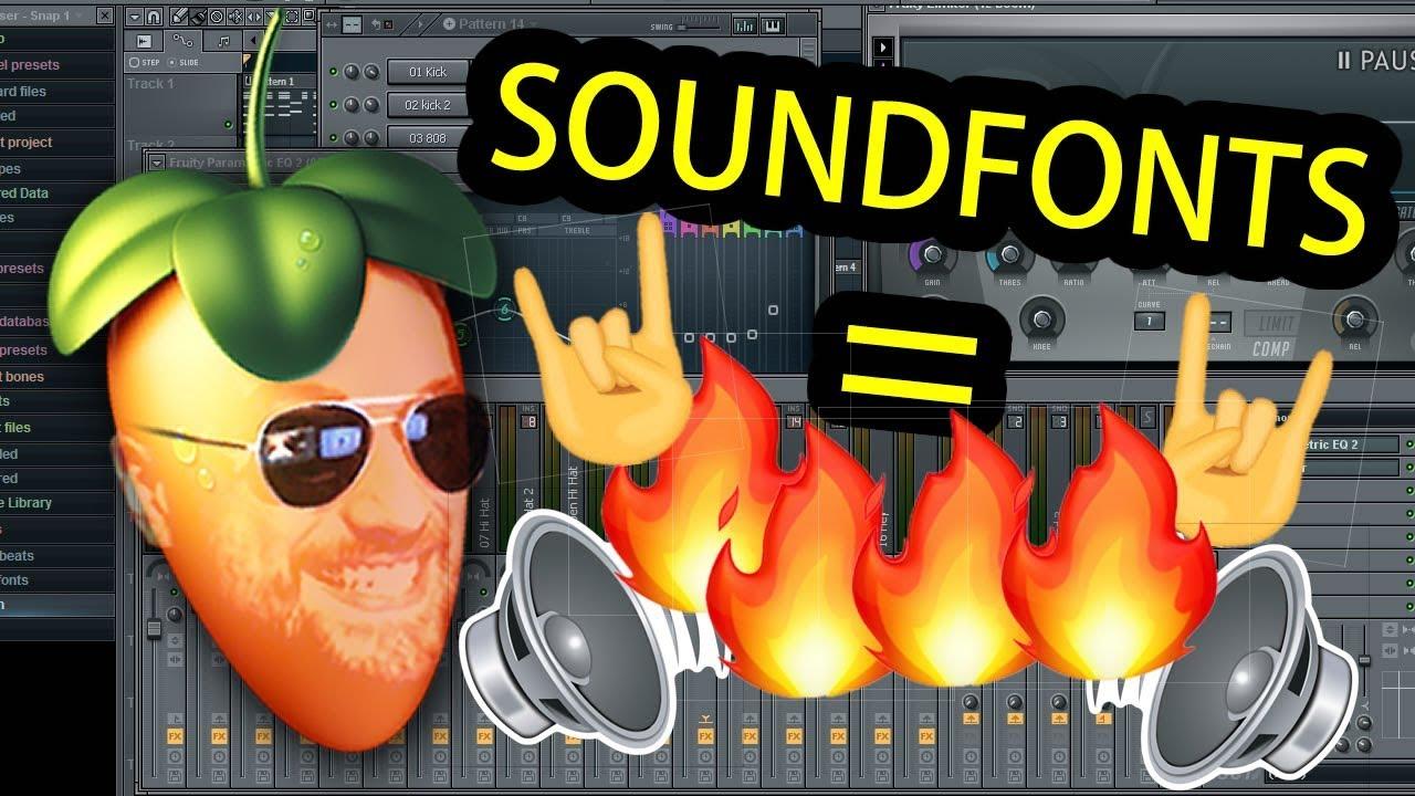 Fl studio 9 soundfonts