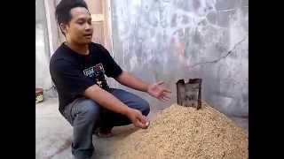 Cara Membuat Arang Sekam (Media Tanam Hidroponik) Sederhana