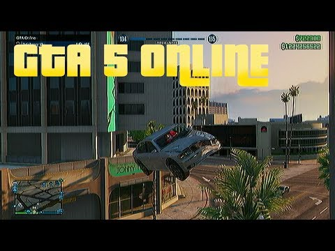 GTA 5 online: FUNNY CAR LUNCH +...