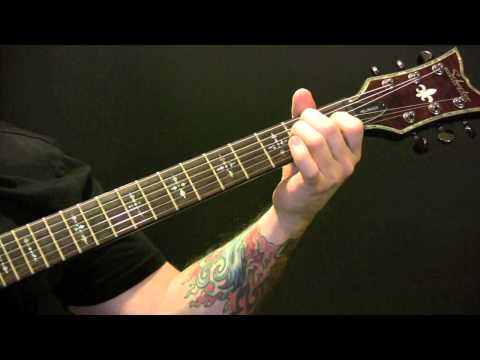 Red Morning Light Guitar Tutorial by Kings Of Leon