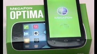 обзор MegaFon Optima