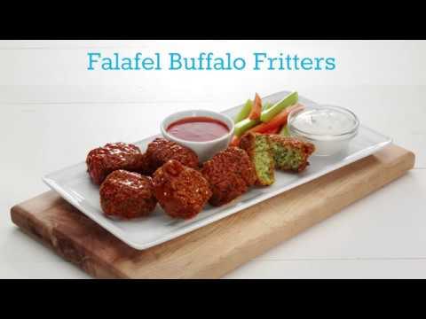 Menu Inspiration: Falafel Buffalo Fritters