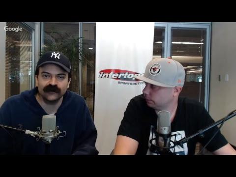 Football Picks For Monday October 16, 2017 | MLB Betting | Peter Loshak & Jimmy The Bag |