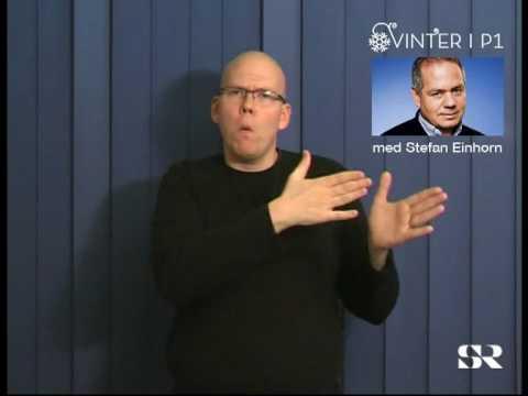 SR P1: Vinter med Stefan Einhorn, del 6 av 8