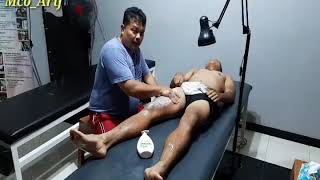 Latihan untuk cidera otot quadriceps(otot paha depan).