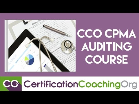Understanding CCO CPMA Auditing Course — Medical Auditing Certification