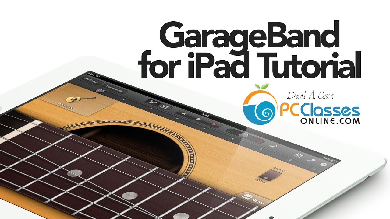 Garageband For Ipad Tutorial Youtube