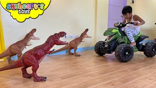 Dinosaur Invasion at our house!!