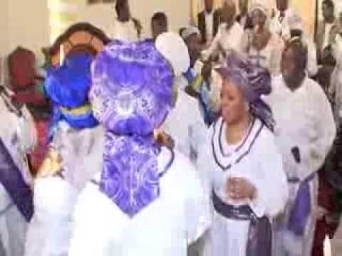 Descending of Prophetss Oluwakemi Awosika from 21 days in trance (Woli Oroboo Jesu)