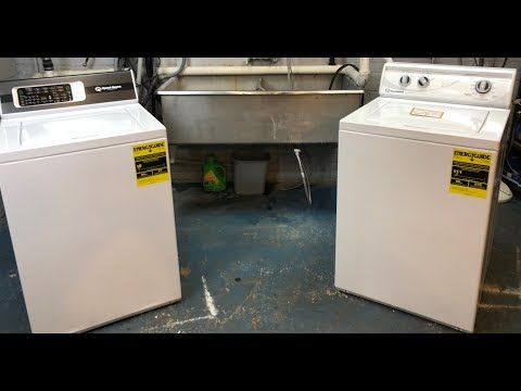 2018 Speed Queen Washer Vs. 2017 Speed Queen Washer