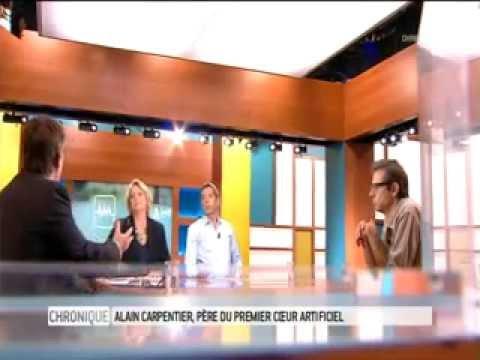 Carmat : Alain Carpentier père du premier coeur artificiel - France 5