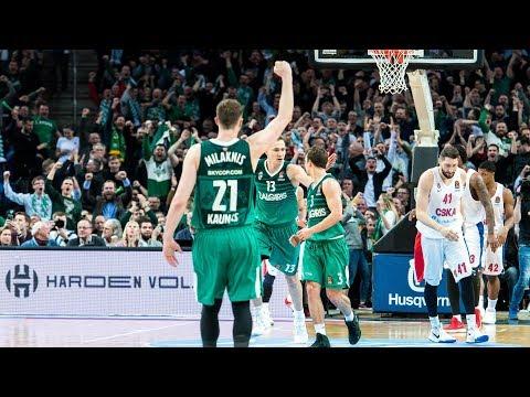 #SlowMotion: Zalgiris defeats CSKA in amazing fashion