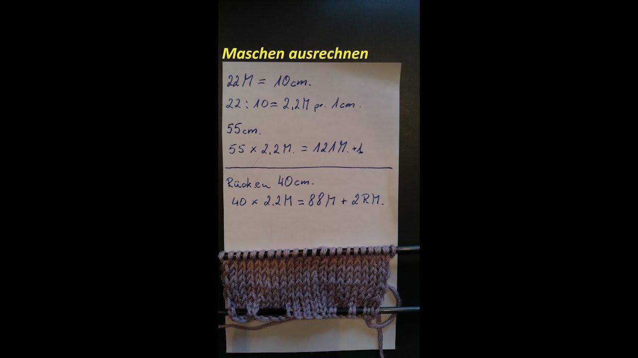 176 stricktipps maschenprobe umrechnen maschen berechnen. Black Bedroom Furniture Sets. Home Design Ideas