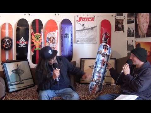 Juice Magazine Drop In with Jeff Ho Surf Skate Icon