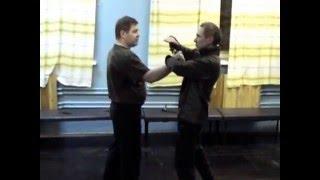 Урок №41 работа против ножа. Приём