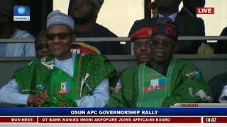 President Buhari, APC Governors Rally Support For Oyetola In Osogbo Pt.3 |Live Event|