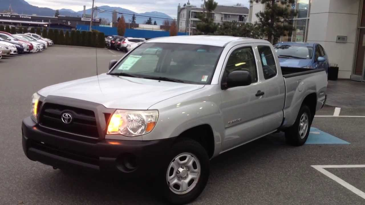 2007 Toyota Tacoma For Sale >> Sold 2007 Toyota Tacoma 2wd Preview For Sale At Valley Toyota Scion In Chilliwack B C 14555a