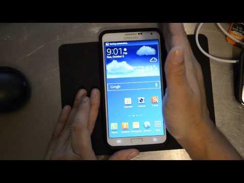 Samsung Galaxy Note 3 - 3 Ways to Take Screenshots