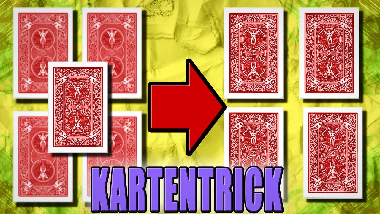 Kartentrick Mit 4 Karten