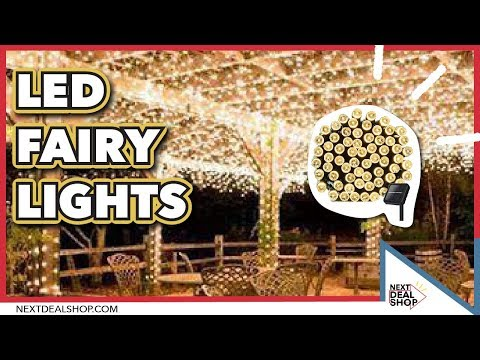 Solar-Powered LED Fairy Lights - Decorate with String Lights!