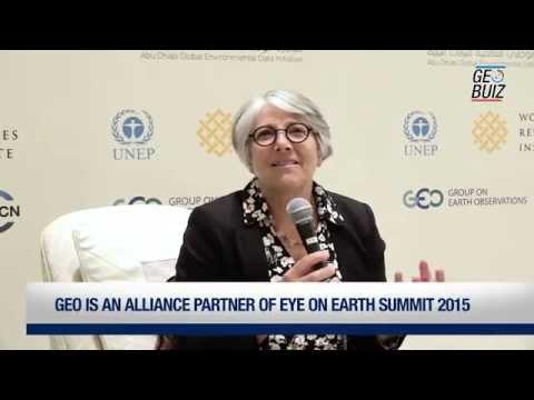 Eye on Earth Summit 2015 - Interview with Barbara J. Ryan