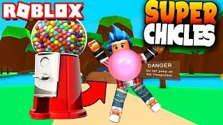 AWESOME CHICLES SIMULATOR! - Roblox: Bubble Gum Simulator