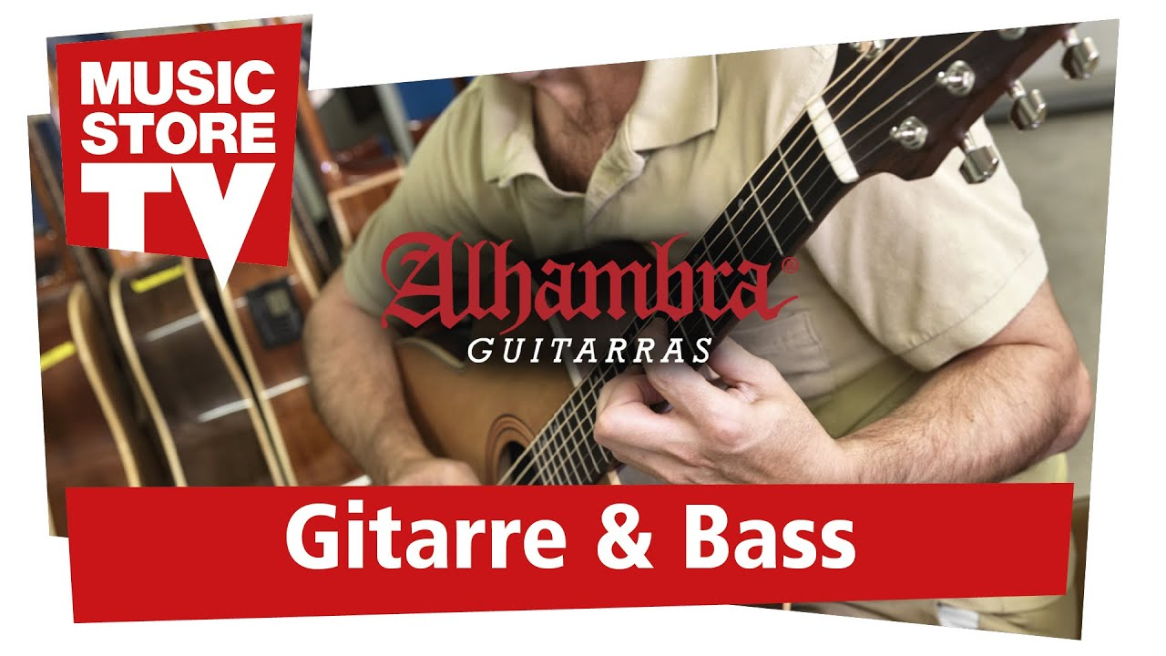 Rafael Cortes Plays Alhambra Guitars Live At Music Store Youtube