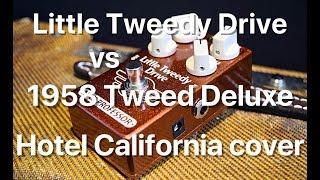 Mad Professor Little Tweedy Drive vs 1958 Tweed Deluxe shootout by Marko Karhu