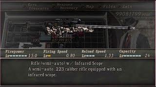 Resident Evil 4 cheat , kebal ,peluru tak habis , smua senjata !!