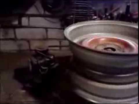 Самодельный станок для полировки дисков