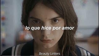 David Guetta, Emeli Sandé - what i did for love (español)