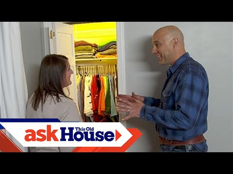 How to Add Automatic Lighting to a Closet