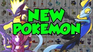 EVERY NEW GENERATION 8 POKEMON! All New Pokemon In Pokemon Sword and Shield Review!