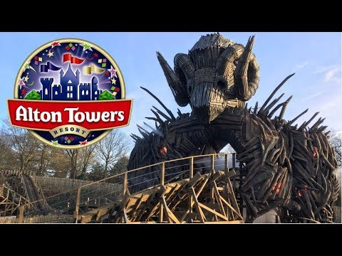 Alton Towers Vlog March 2018
