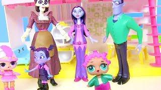 Куклы Лол Мультик! Lol Surprise от бабушки для Семейки Вампирины! Мультфильмы для детей