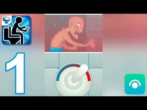 Toilet Time: Mini Games - Gameplay Walkthrough Part 1 (iOS, Android)