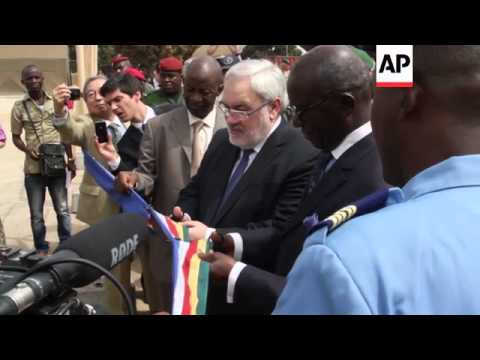 Centre built by French and Guinean armies opens