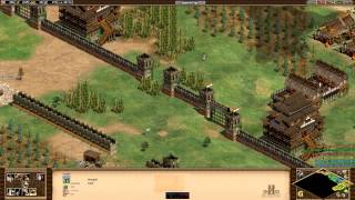 Age of Empires HD let's play Genghis Khan mission 3. Into China