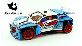 Lego Technic 42077 Rally Car - Lego Speed Build