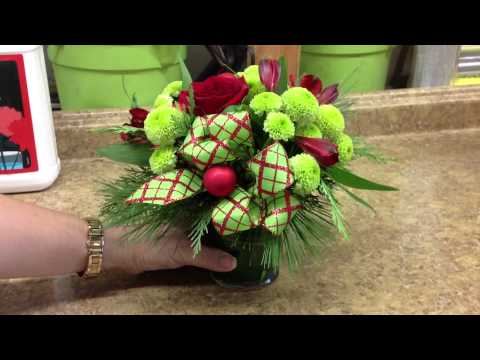 Everyday Flowers 2013 Christmas Bouquet