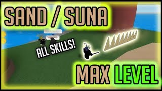 MAX LEVEL SAND DEVIL FRUIT LA UNA PIEZA DE STEVE Roblox ? Devil Fruit Showcase
