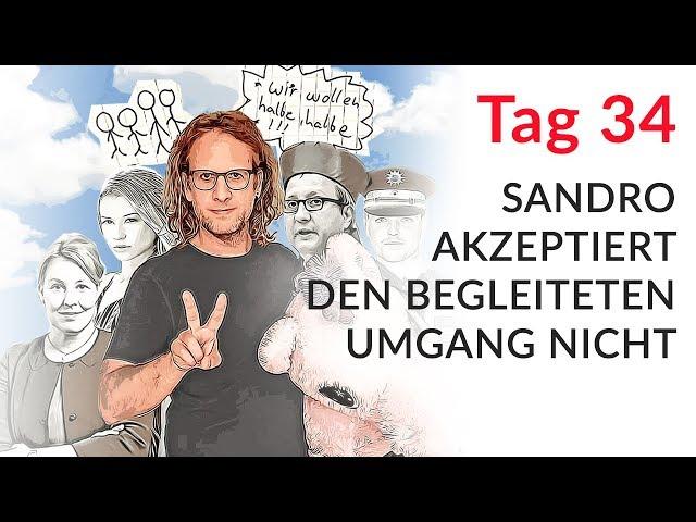 Sandro akzeptiert den begleiteten Umgang nicht (Wechselmodell Tag 34)