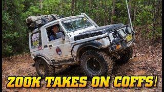 Suzuki Sierra does Coffs Tough Tracks - Insane recoveries and bush mechanic fixes