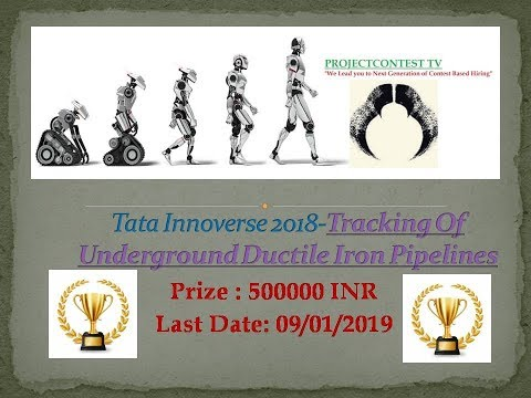 TATA INNOVERSE- Tracking of underground ductile iron pipelines