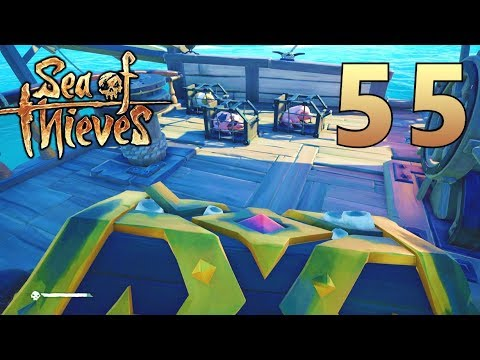 [55] Treasure Filled Sunken Ships!!! (Sea Of Thieves Gameplay PC)