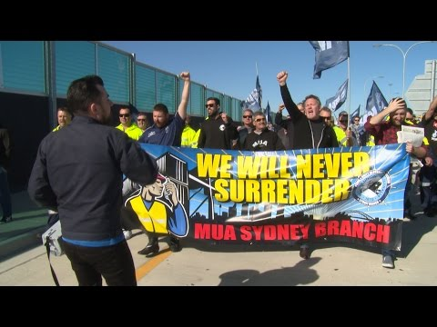 Hutchison Ports Dispute - MUA Rising