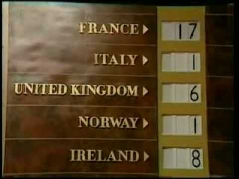 Eurovision 1968 Voting Part 1/2