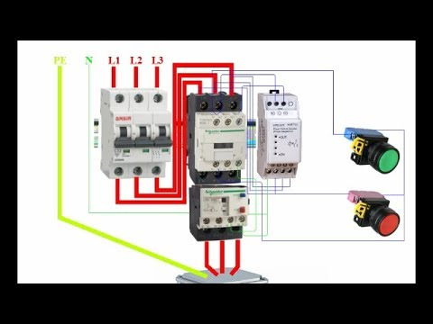 How to wire a    Phase    Failure Relay   Device       Phase