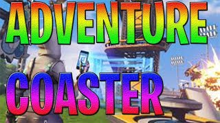 ADVENTURE COASTER BY KK-SLIDER - (FORTNITE CREATIVE) + CODE