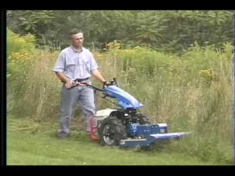 Bcs Mower Attachments Youtube